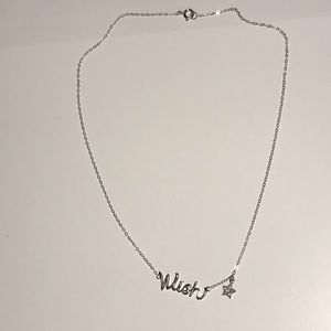 Wish Necklace With Star Charm